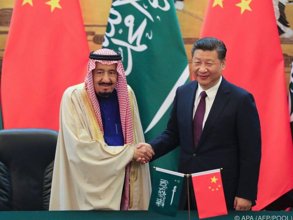 König Salman bin Abdulaziz ist derzeit in China