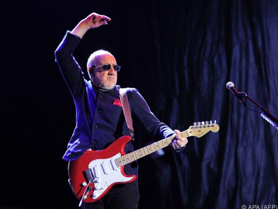 Legendär: Townshend und seine zerstörten Gitarren