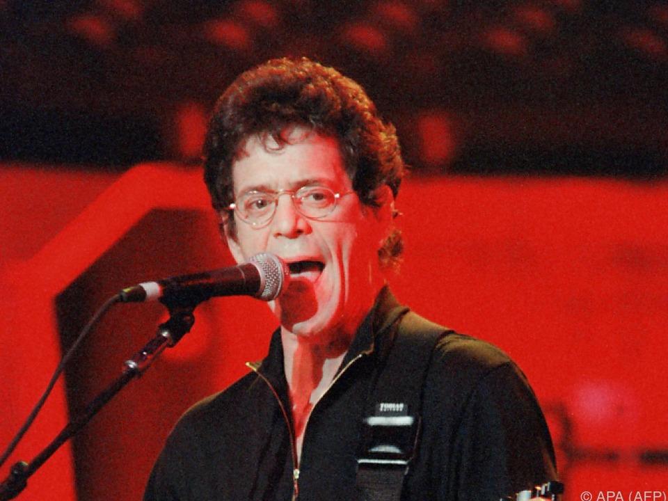 Lou Reed erlag 2013 einem Krebsleiden