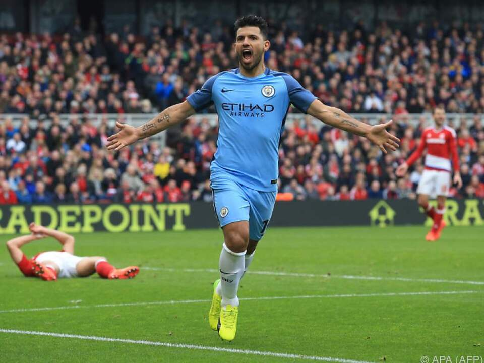 ManCity fertigte Middlesbrough mit 2:0 ab