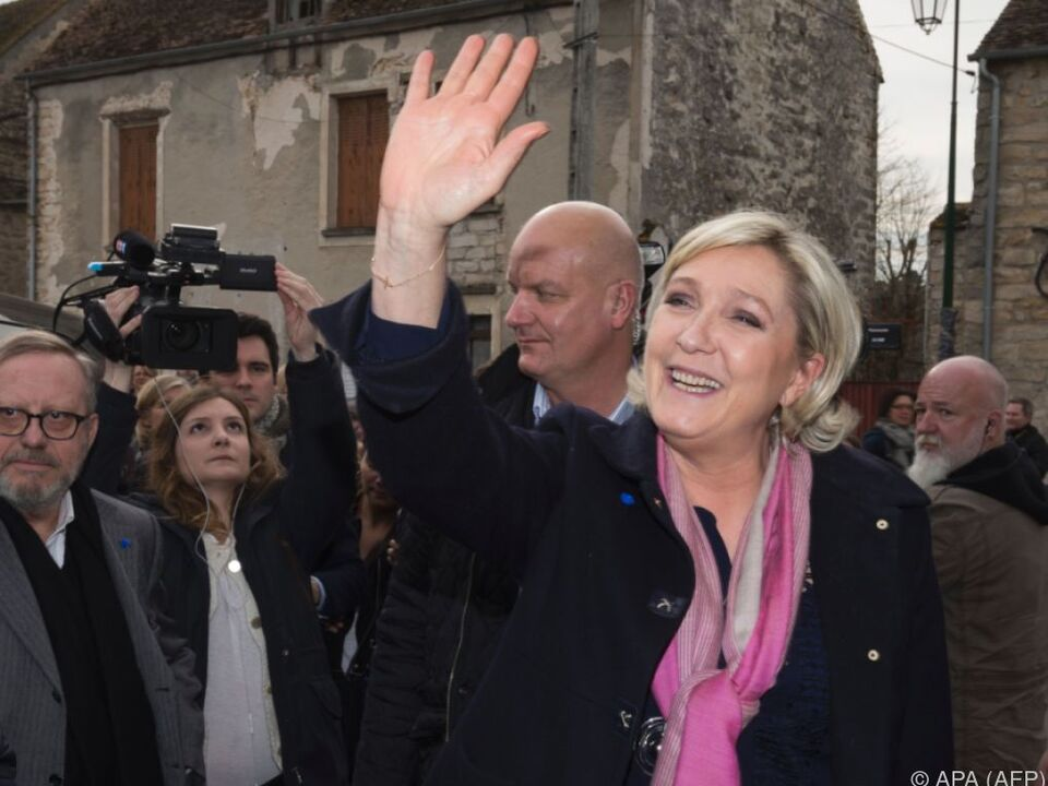 Marine Le Pen im Wahlkampfeinsatz