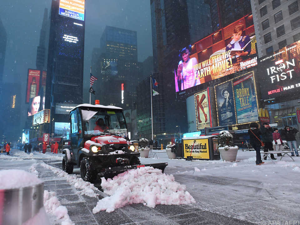 New Yorker Schulen blieben geschlossen