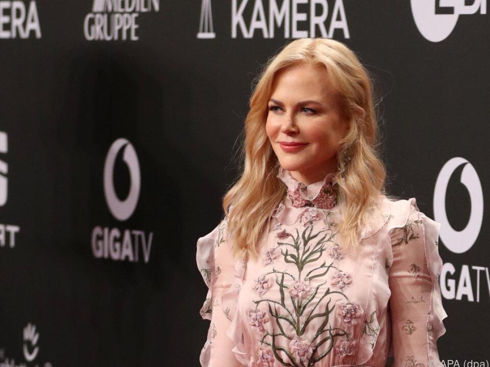 Nicole Kidman wird als beste Schauspielerin ausgezeichnet