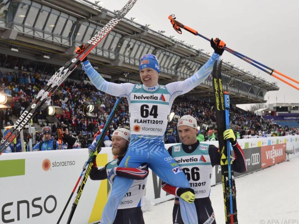 Niskanen siegte vor zwei Norwegern