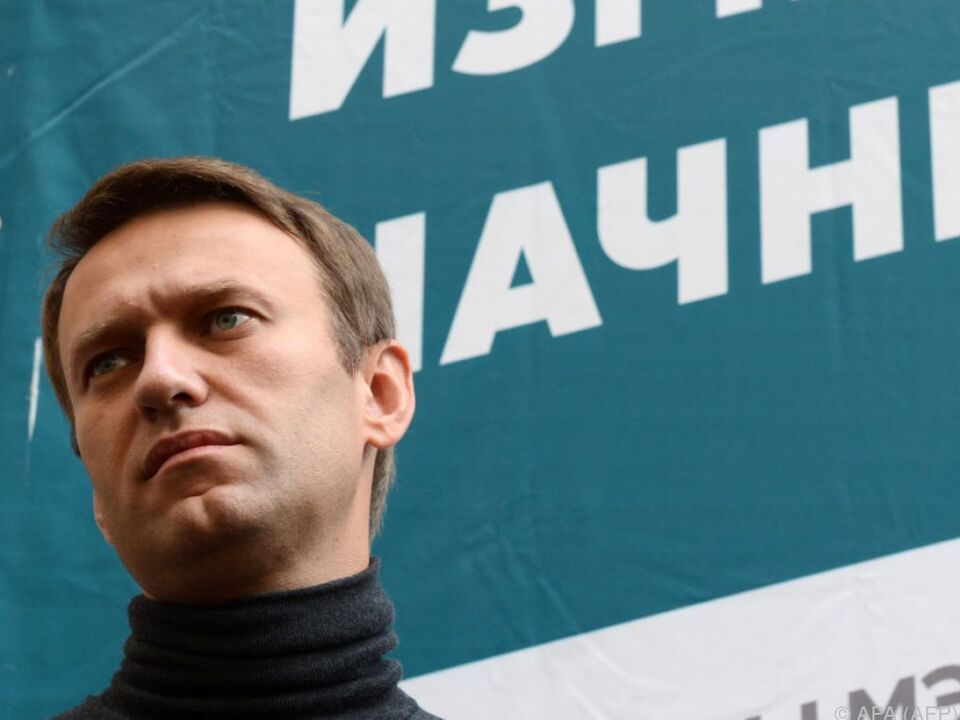 Ob Nawalny kandidieren darf, ist noch unklar