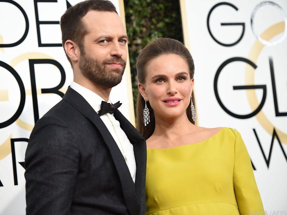 Portman mit Ehemann Benjamin Millepied