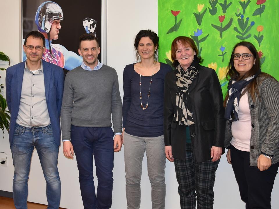 Treffen Südtiroler Jugendring mit Stocker