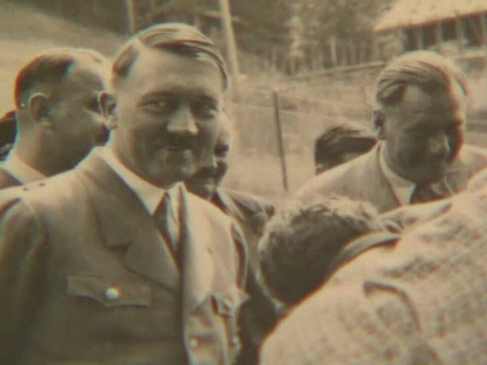 Privater Blick auf Adolf Hitler