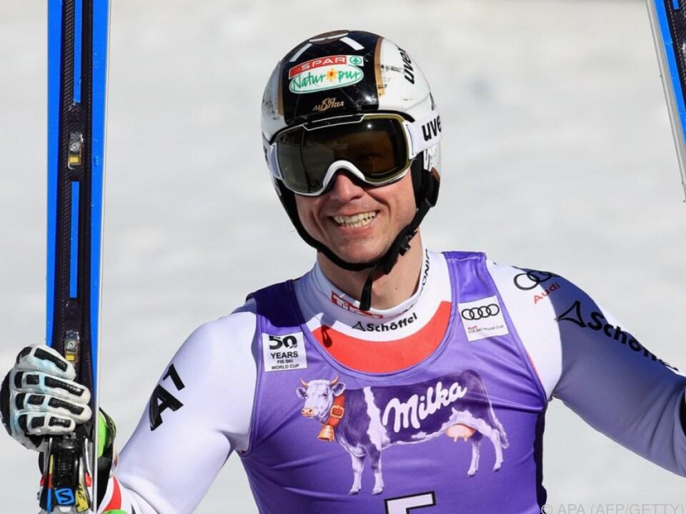 Reichelt gewann den Super-G in Aspen