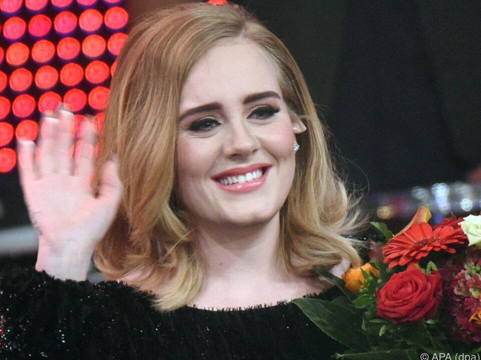 Sängerin Adele hat mit ihrem Ehemann einen vierjährigen Sohn