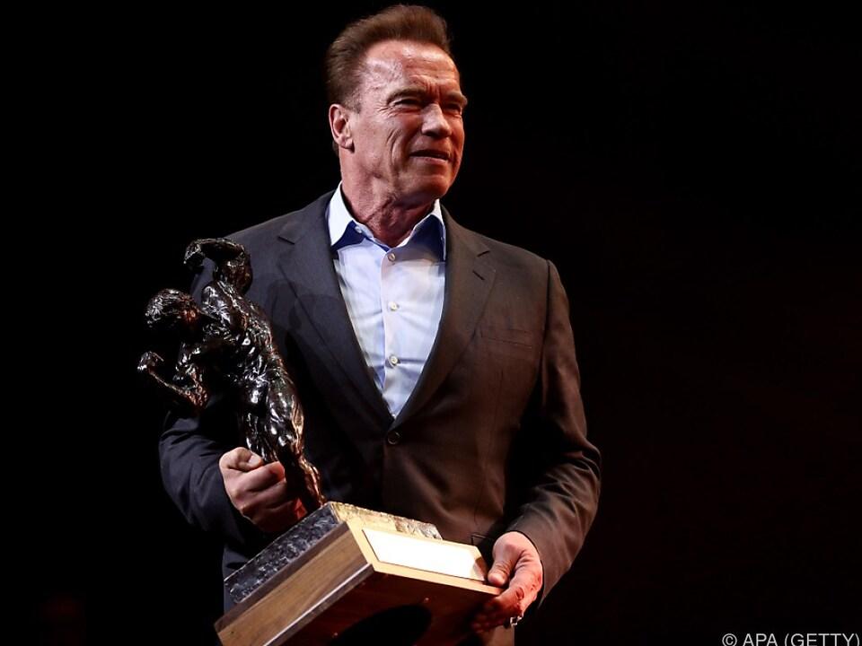 Schwarzenegger ist traditionell ein Republikaner