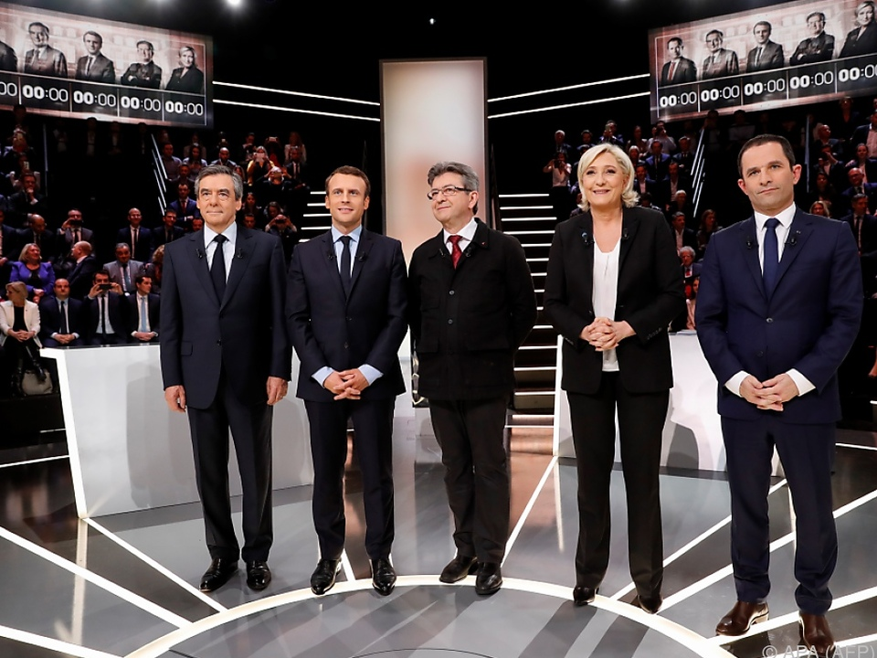 Sechs Kandidaten traten gegeneinander an