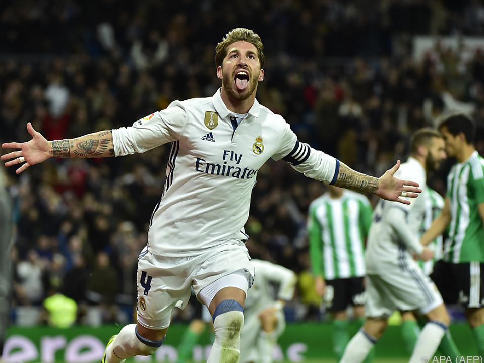 Sergio Ramos erzielte den entscheidenden Treffer