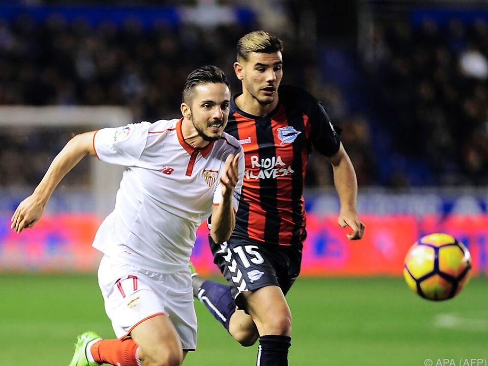 Sevilla liegt in der Meisterschaft auf Platz 3