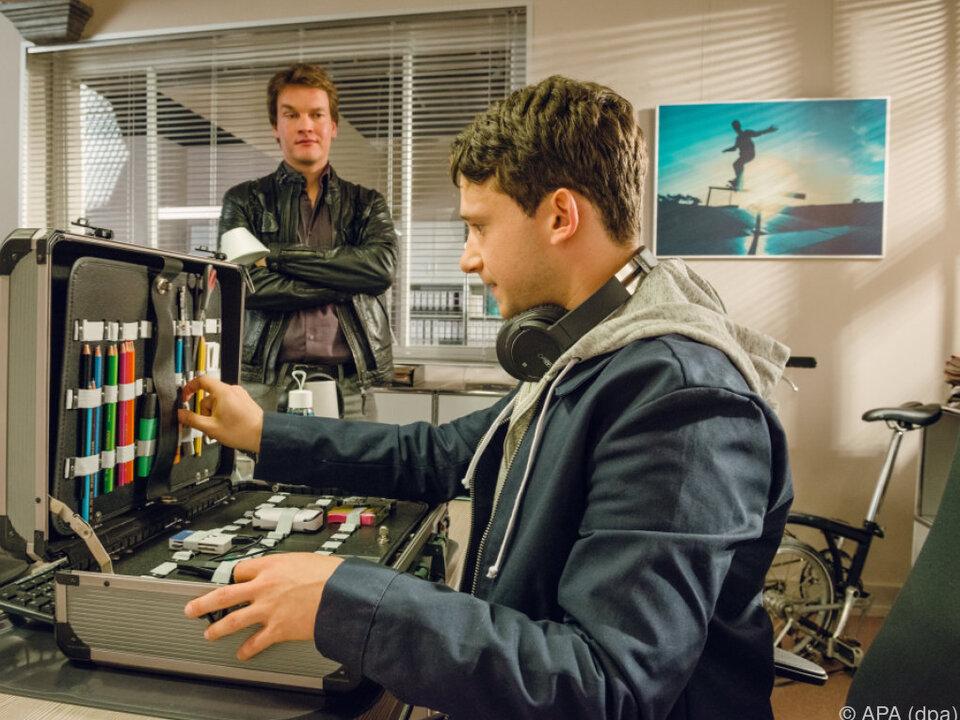 Thimo Meitner spielt den IT-Spezialisten Lenny Wandmann