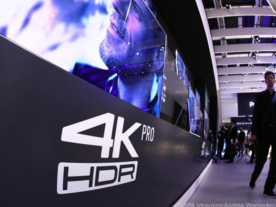 UHD wird oft auch 4K genannt: Gemeint ist vierfache Full-HD-Auflösung