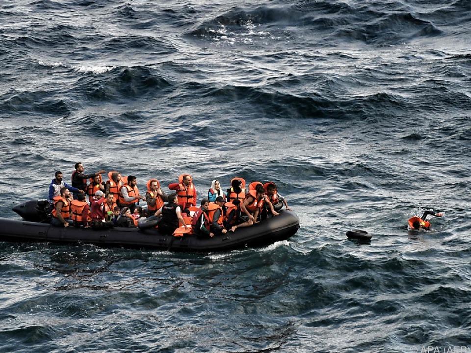 Von vielen Flüchtlingsdramen weiß nur das Meer
