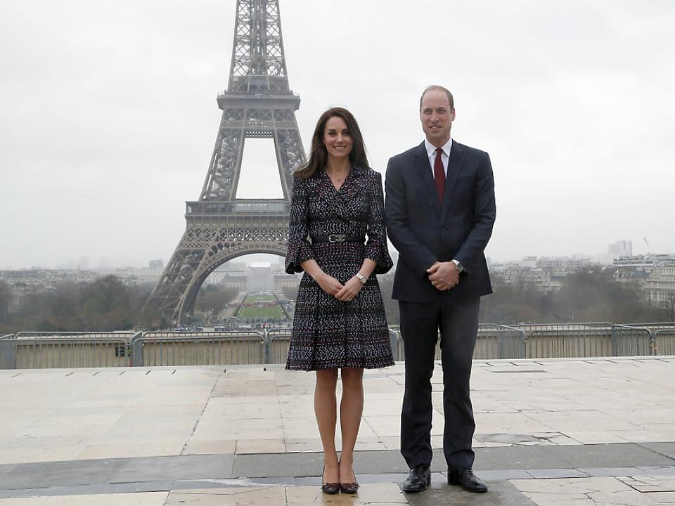 William und Kate hatten eine tolle Zeit in Paris