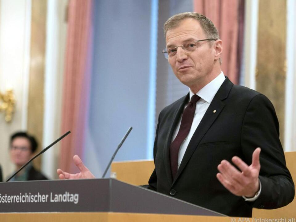 51 von 55 Landtagsabgeordneten stimmten für Stelzer