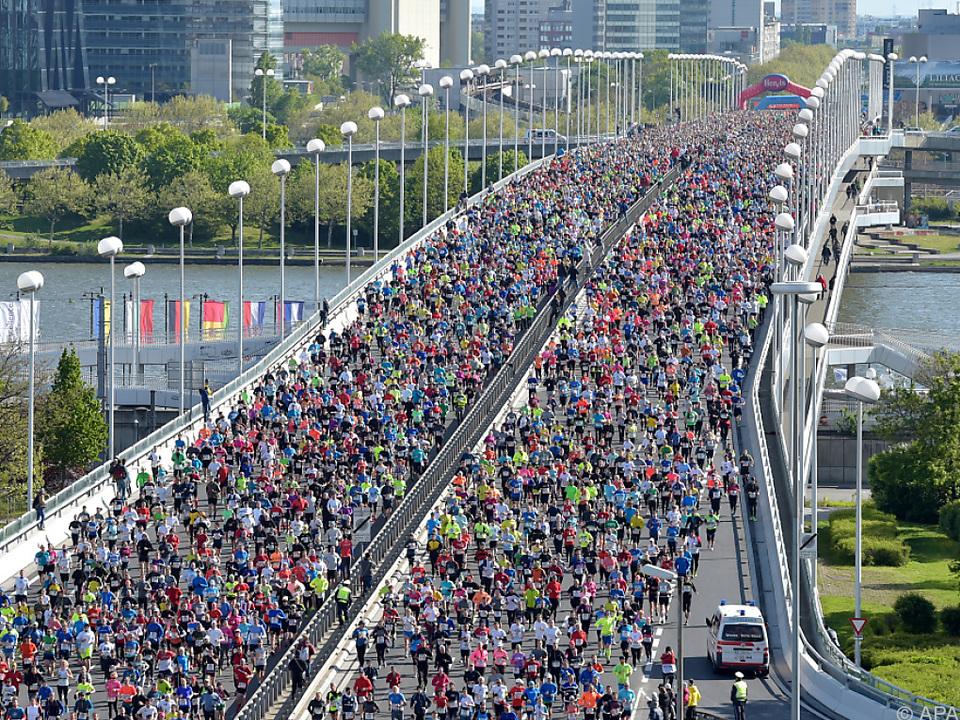6.319 Marathon-Starter erreichten auch das Ziel