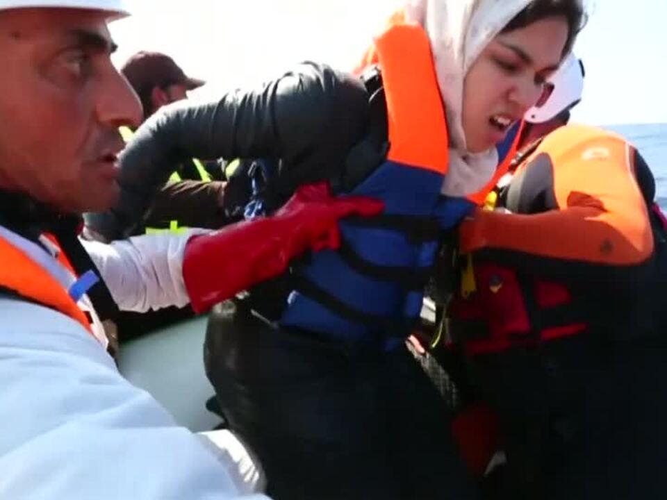 700 Flüchtlinge im Mittelmeer gerettet
