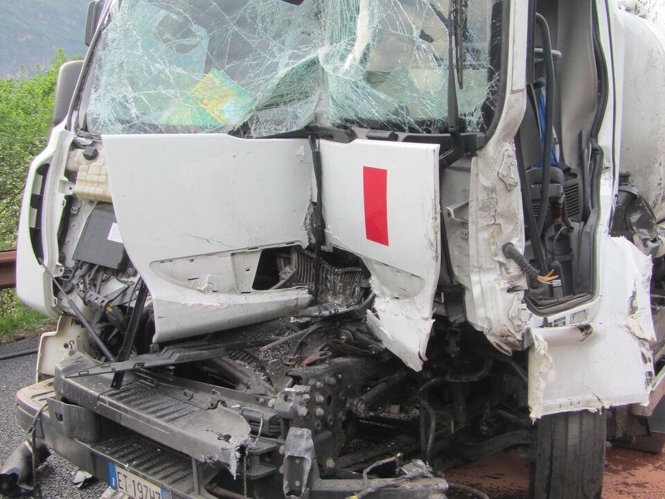 Lkw-Unfall A22