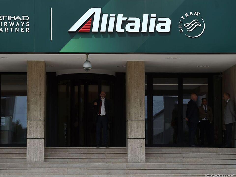 Alitalia-Hauptquartier in Rom