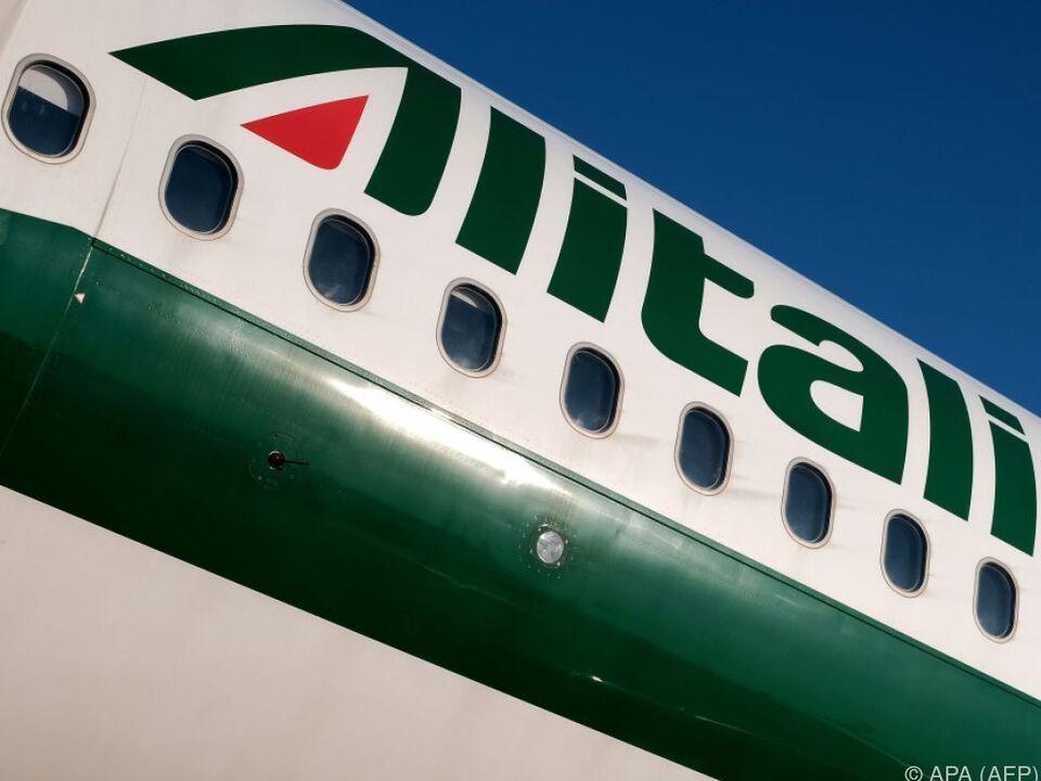 Alitalia-Personal ist gegen die Einsparungen
