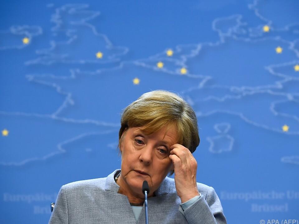 Angela Merkel befindet sich derzeit im Königreich