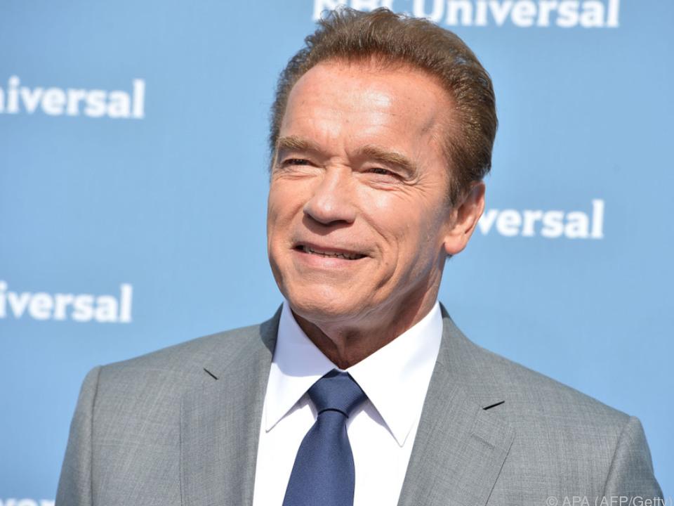 Arnold Schwarzenegger ist auch als Produzent an Bord