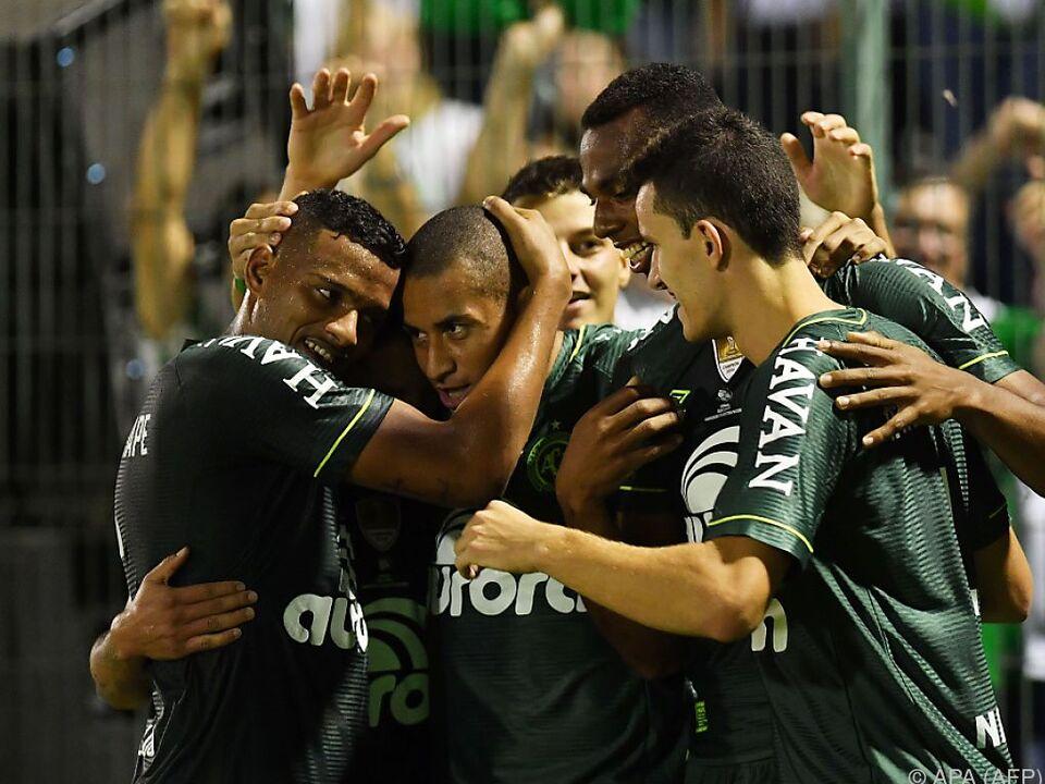 Atletico Nacional wurde von den Brasilianern 2:1 geschlagen