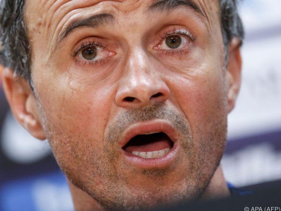 Barca-Coach Luis Enrique fordert hartes Durchgreifen
