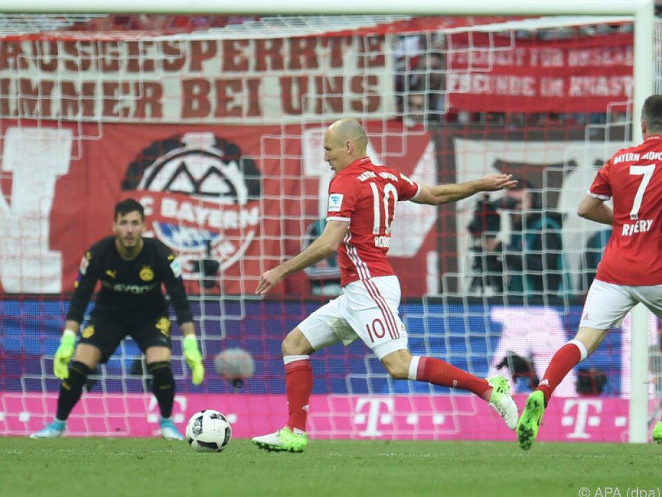 Bayern ließ BVB keine Chance