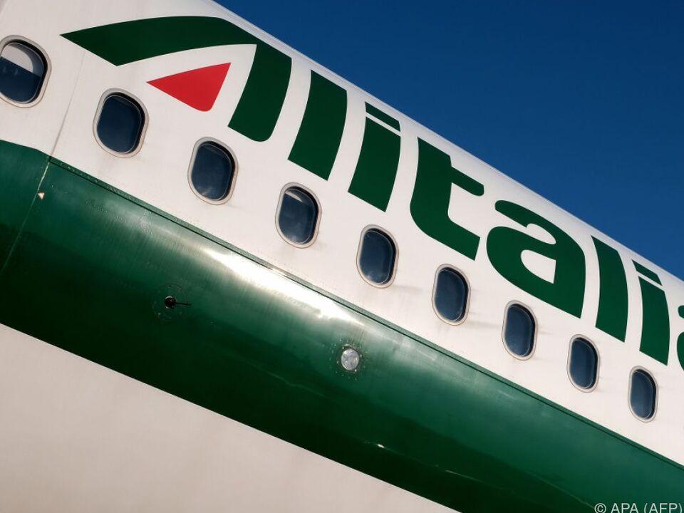 Bei Alitalia kann man durchschnaufen