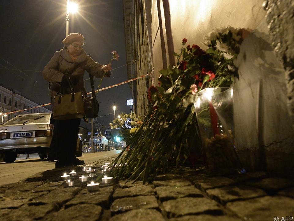 Betroffenheit in St. Petersburg, aber auch international