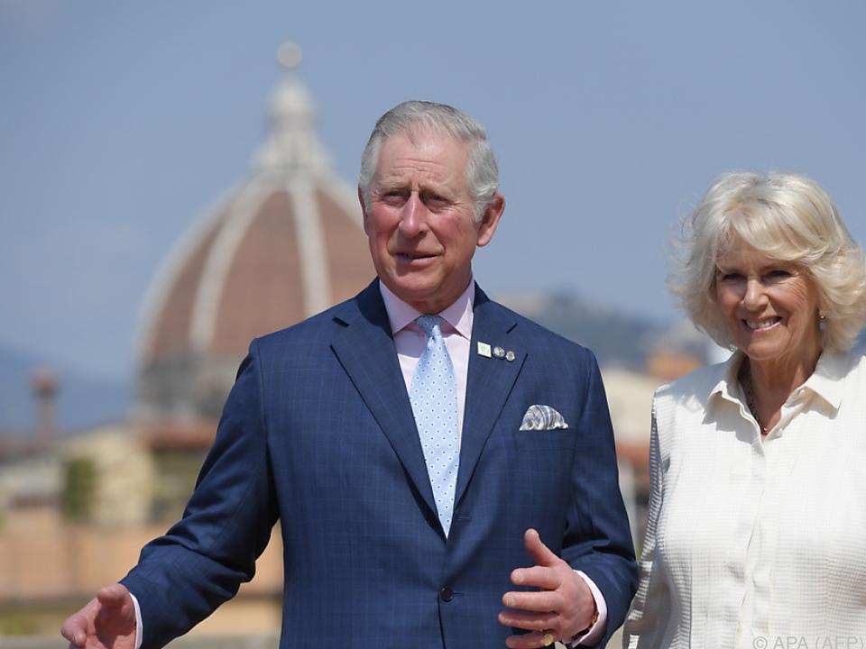 Charles und Camilla waren zuletzt in Florenz