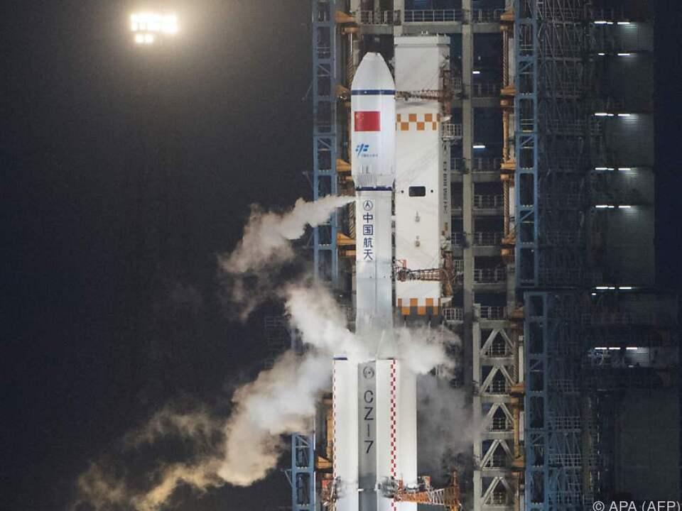 Das Cargoschiff Tianzhou 1 hebt ab