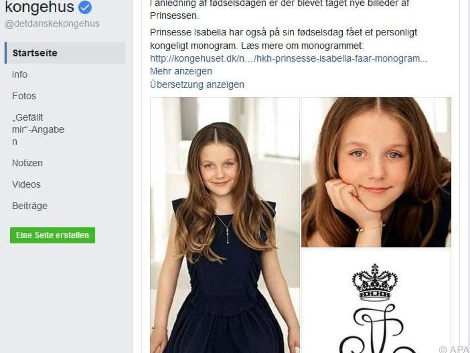 Das Königshaus veröffentlichte neue Fotos der Prinzessi
