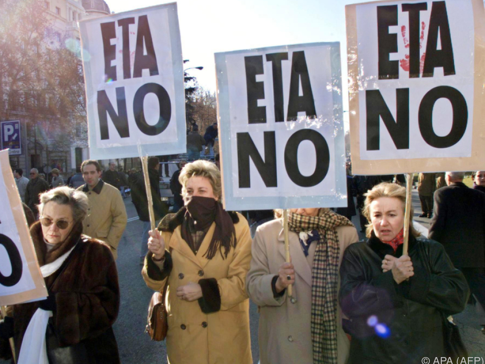 Polizei findet ETA-Waffen