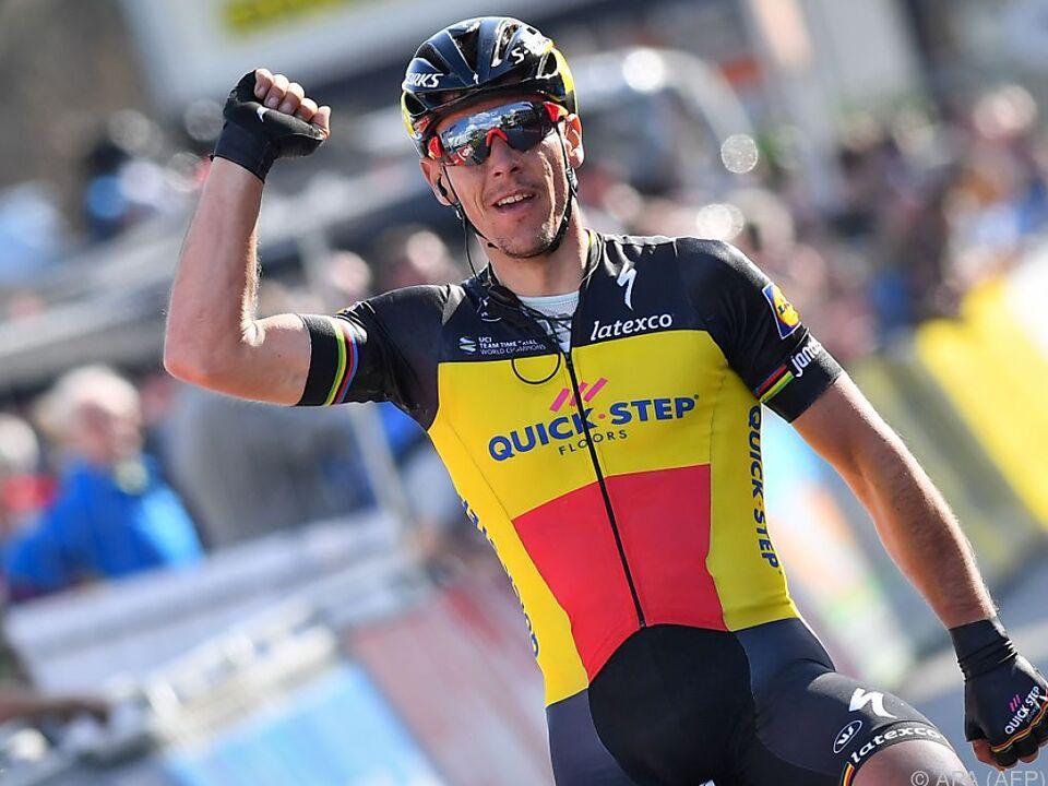 Der Belgier bezahlte seinen Sieg mit einer Nierenverletzung