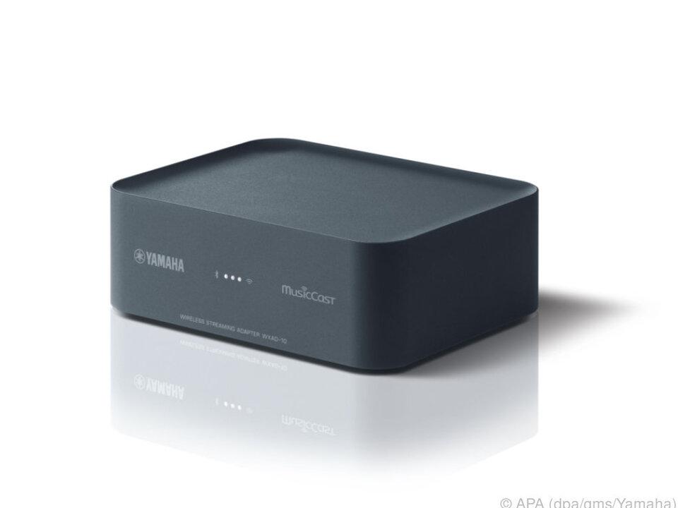 Der kleine Kasten bindet alle analogen Audiogeräte in MusicCast-Netze ein