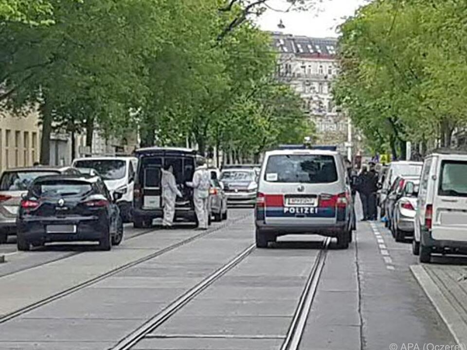 Der Tatort in der Jägerstraße in Brigittenau