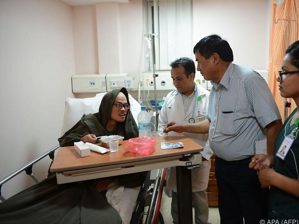 Der überlebende Taiwanese wird derzeit medizinisch versorgt