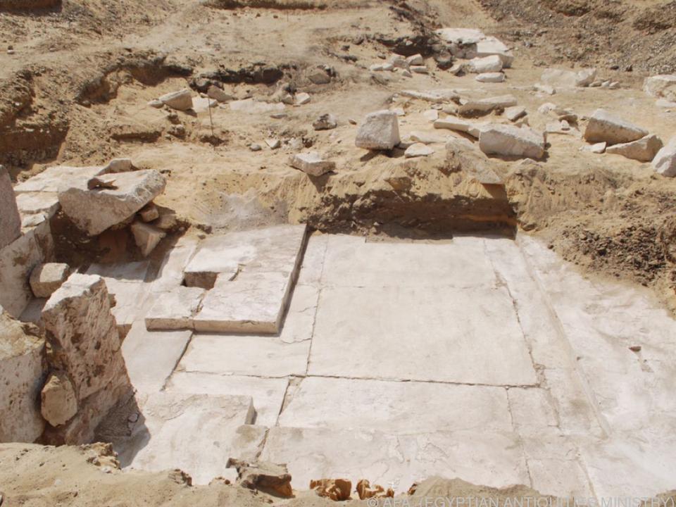 Die Ausgrabungen sind noch in einem frühen Stadium