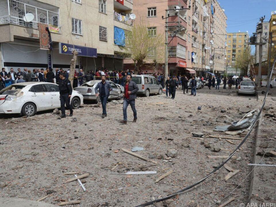 Die Detonation war in der ganzen Stadt zu hören