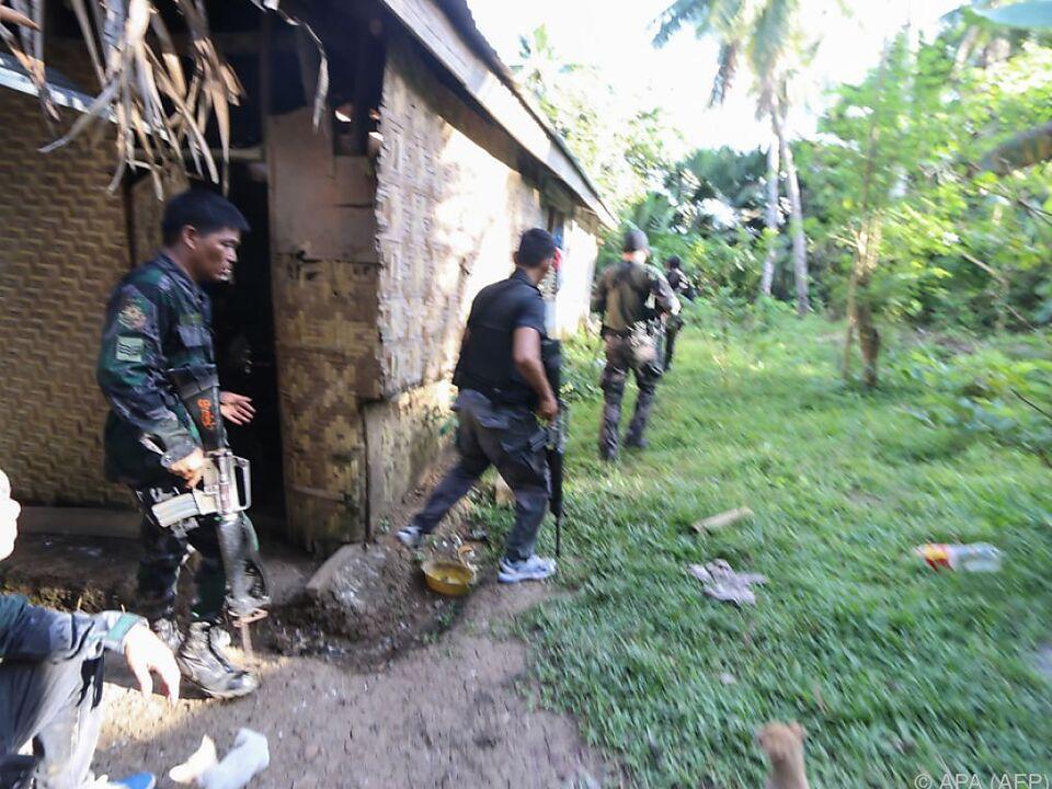 Die Gefechte auf Bohol dauerten mehrere Stunden