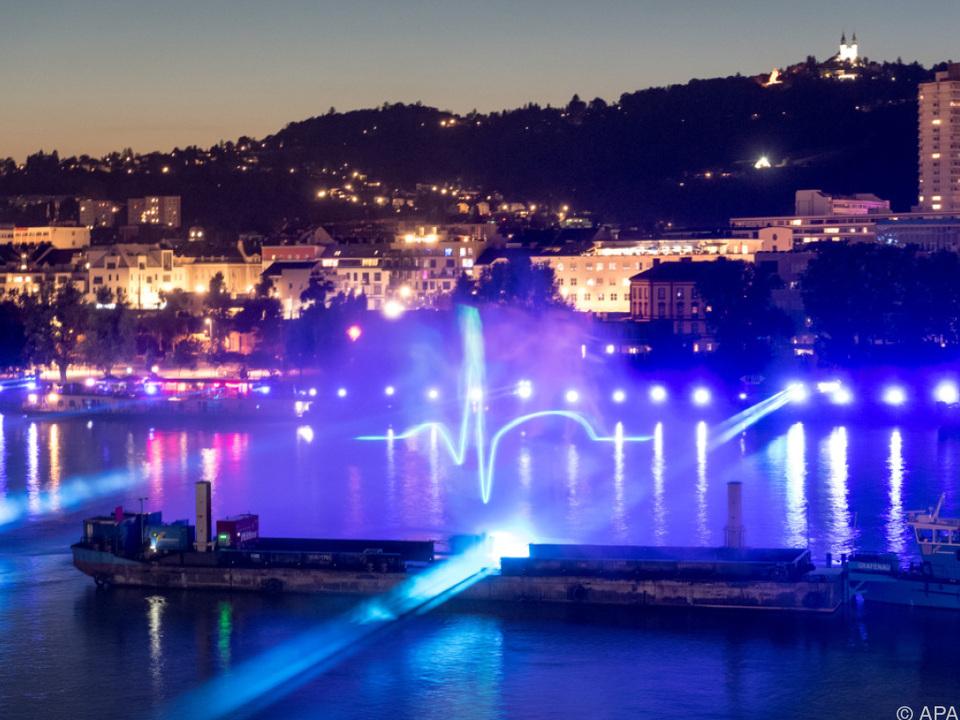 Die Klangwolke ist jedes Jahr ein kulturelles Highlight in Linz