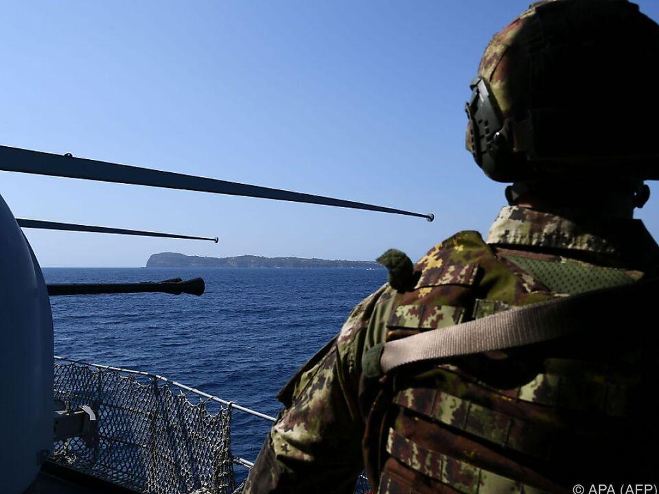 Die Kontrollen der EU-Außengrenzen sidn aufwändig