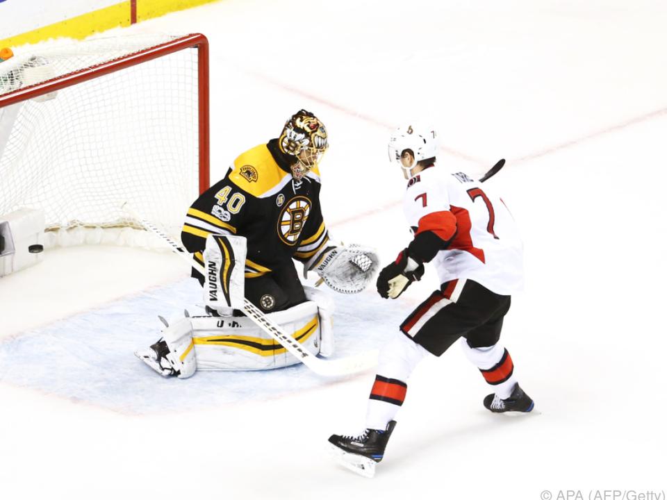 Die Ottawa Senators setzten sich durch