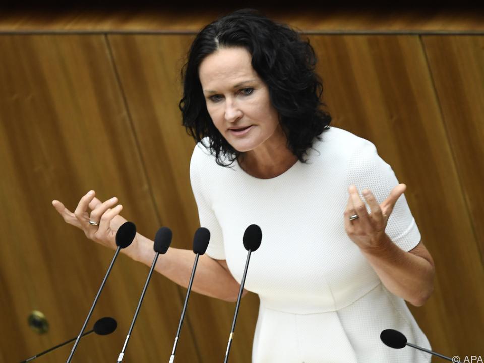 Die Parteichefin will sich einem kritischen Diskurs stellen